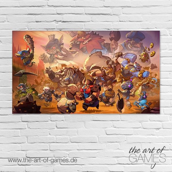 Swords & Soldiers II - Key Art
