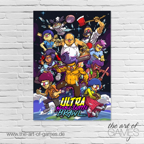 Ultra Space Battle Brawl - Cover Art
