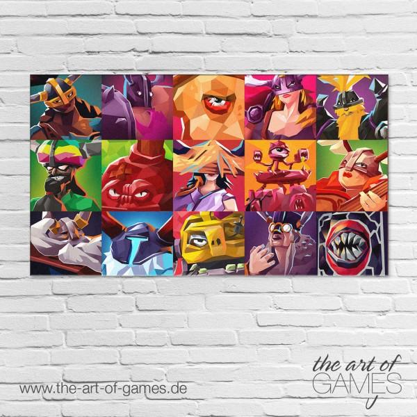 Bossgard - Characters