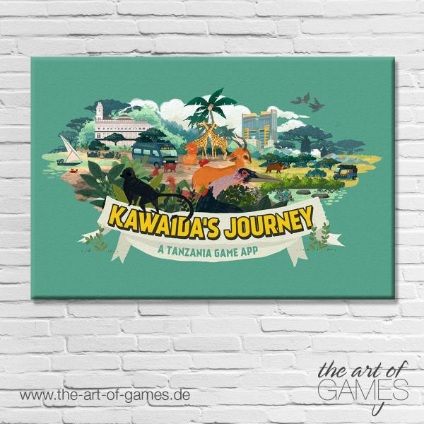 Kawaida's Journey - Wimmelbild