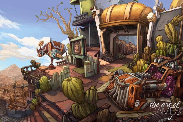 Deponia - Stadttor