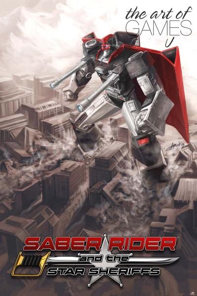 Saber Rider - Ramrod Logoart