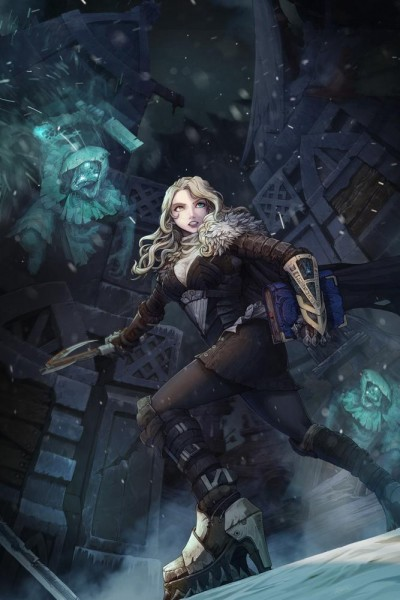 Vambrace - The Wraiths of Icenaire