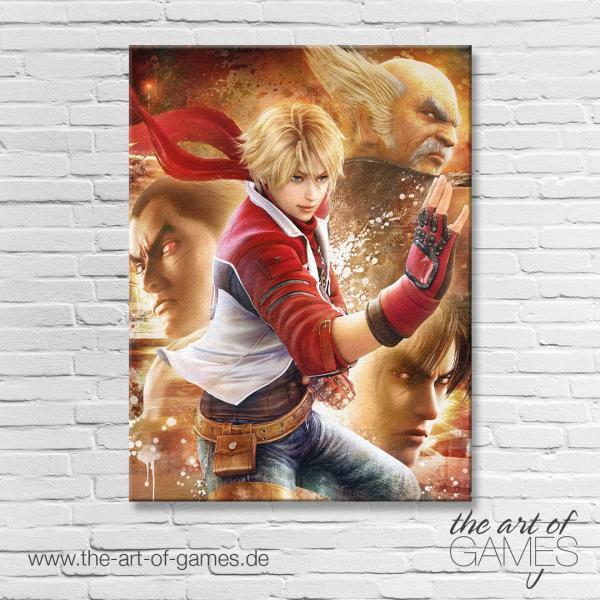 Tekken 6 - Leo, Hei, Jin, Kaz