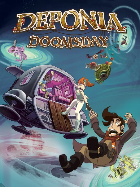 Deponia Doomsday - Cover Art