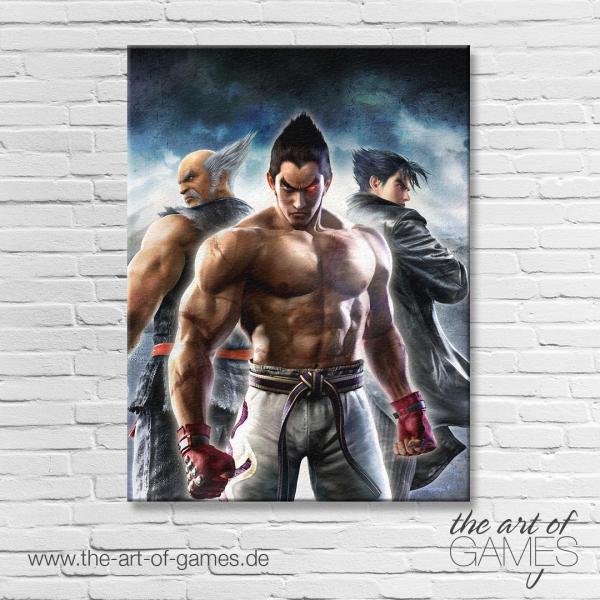 Tekken - Jin, Hei & Kaz