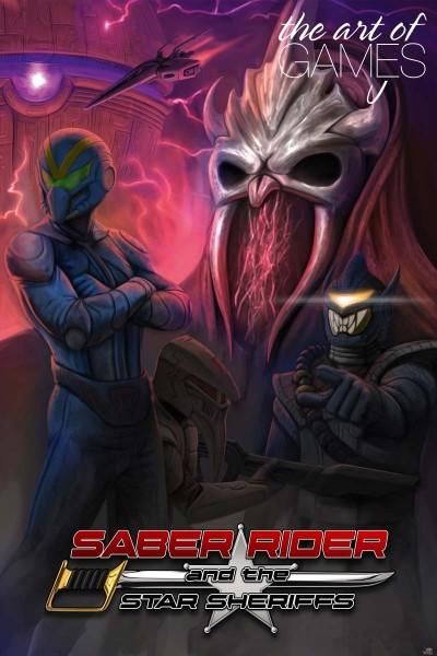 Saber Rider - The Outrider Logoart