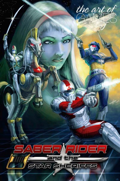Saber Rider and the Star Sheriffs Logoart